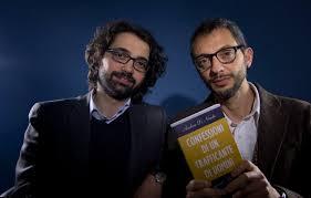 Die Autoren Andrea Di Nicola (links) und Giampaolo Musumeci.