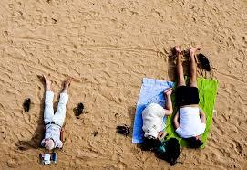 Stress am Strand?