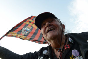 Nonno Ciccio feiert. (Foto: Max Intrisano)
