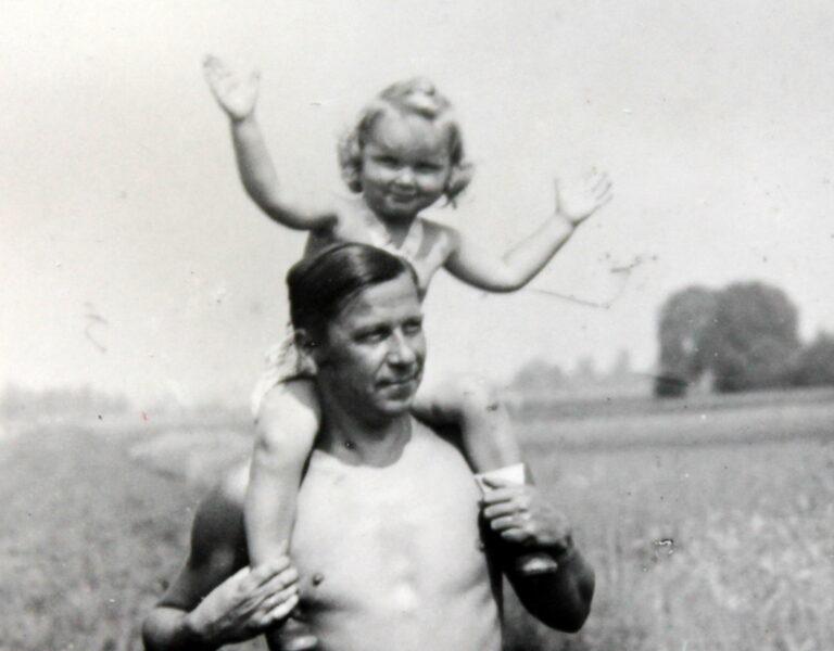 Heinrich Berger mit Dorothea Johst 1944